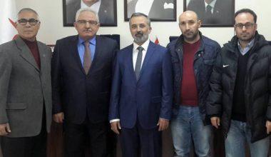 Aile Sosyal Politikalar İl Müdürü Erkut Öneş'e Hayırlı Olsun Ziyareti.