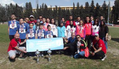 Türkiye'nin En Hızlı Kulübü BUGES, 4 Rekor 46 Madalya, 2 Kupa