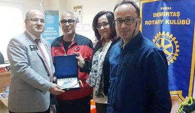 Teşekkürler Demirtaş Rotary Kulübü