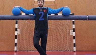 Goalball'de Gururumuz Oğuzhan Yılmaz