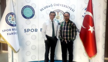 Uludağ Üniversitesi Spor Bilimleri Fakültesi Dekanı Prof. Dr. Cenk AYDIN'dan Tam Destek…
