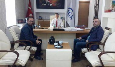 SGK Bursa il Müdürü Erhan Karaca, Kulübümüzü Ağırladı.