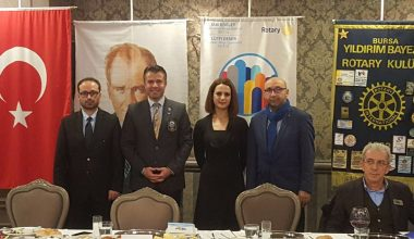 Yıldırım Bayezid Rotary Kulübünde Engelliliği Anlattık.