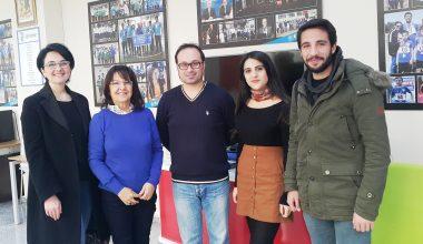 AHBAP Derneğinden Kulübümüze Ziyaret ve Ortak Çalışma Görüşmesi