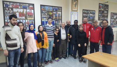 Bursa Ampute Gücü Başkanı Faruk Kuzu'dan Ziyaret
