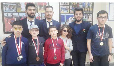 Satranç İl Şampiyonasında BUGES Rüzgarı