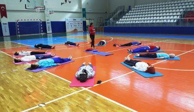 Sporcularımıza Yoga Eğitimi