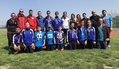 Atletizm Türkiye Şampiyonasında; 37 Madalya, 1 Türkiye Rekoru!
