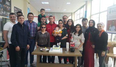 Milli Sporcumuz ve Futsal Takım Kaptanımız Suat Öner'in Doğum Gününü Kutladık