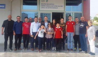 Gençlik Hizmetleri Spor İl Müdürü Doç.Dr.Süleyman Şahin'den Kulübümüze Tam Not