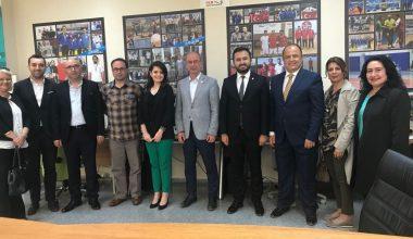 İYİ Parti Nilüfer İlçe Yönetiminden Kulübümüze Ziyaret