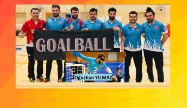 Goalball Dünya Şampiyonasında; Sporcumuz Oğuzhan Yılmaz ve Tüm Millilere Başarılar