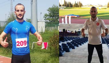 Avrupa Şampiyonası öncesi Hakan Cira formda. Milli Atletimizden 2 Madalya, 1 Türkiye Rekoru