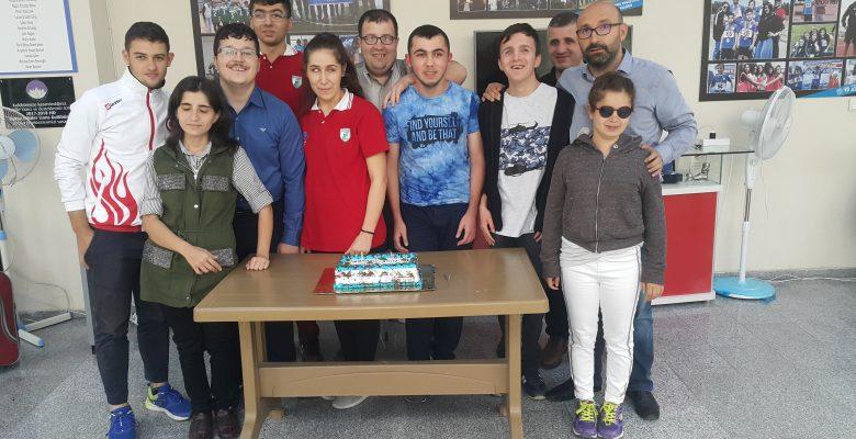 Şampiyon Sporcularımız Muhammet Balcı ve Berkay Çolak'ın doğum gününü kutladık