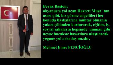 Mehmet Emre Fencioğlu Yazdı: Beyaz Baston