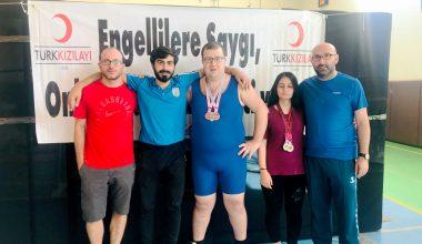 Türkiye Halter Şampiyonası'nda 4 Madalya