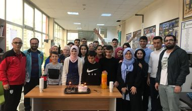 Sporcumuz Şeymagül Doruk'a sürpriz doğum günü kutlaması