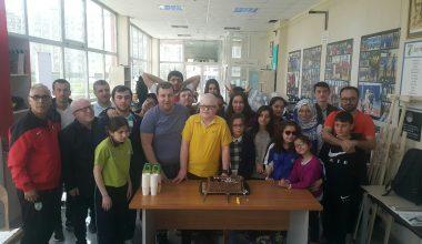 Selçuk Baytoz ve Emin Gürbüz'e doğum günü kutlaması