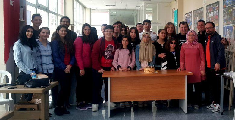 Ayşe Ebrar Öztürk'ün doğum gününü kutladık