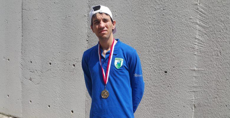 Sınır ve mesafe tanımayan atletimiz Bayram Sevinç'den büyük başarı