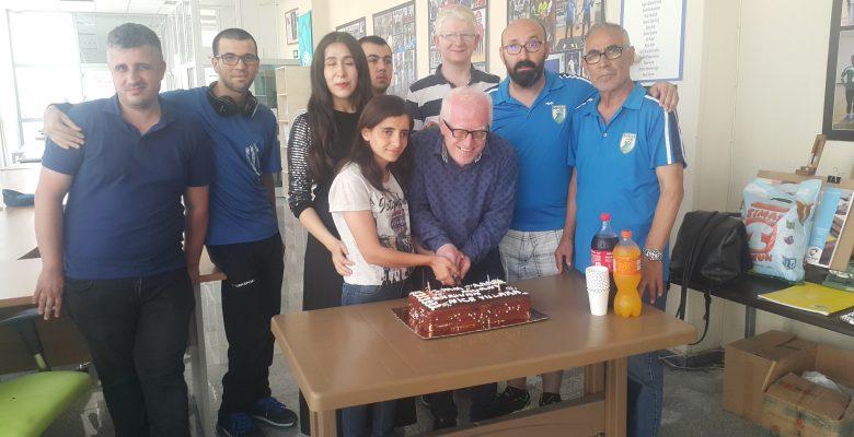 Berivan ve Murat'a doğum günü kutlaması