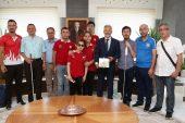 Nilüfer Belediye Başkanımız Turgay Erdem'in konuğu olduk