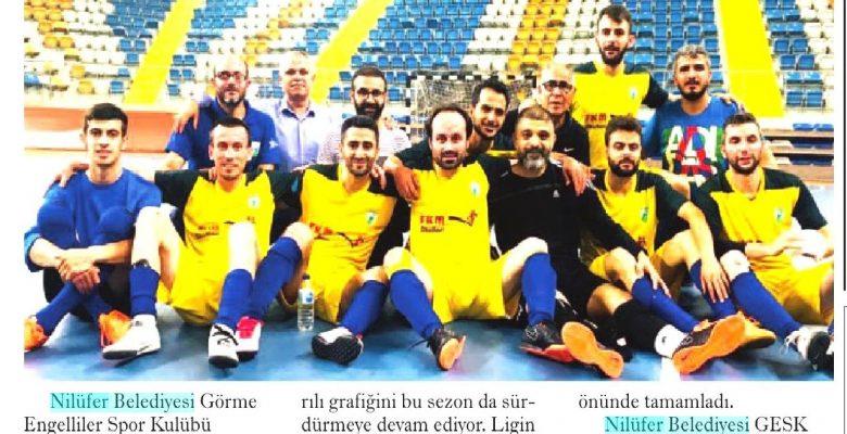 Futsal haberlerimizden basına yansıyanlar