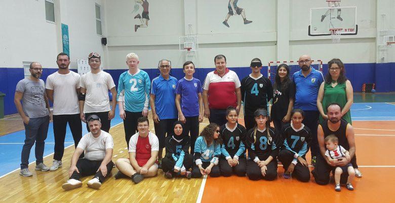 30 Ağustos Zafer Bayramı kutlamalarını Goalball Şampiyonasıyla tamamladık