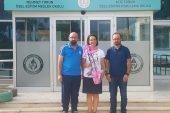 Genel Sekreterimizi Yeni Okulunda Ziyaret Ettik
