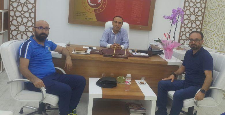 Mehmet Torun Özel Eğitim Müdürüne ziyaret