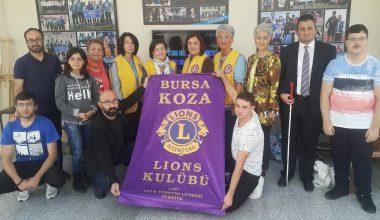 Koza Lions'dan kulübümüze ziyaret
