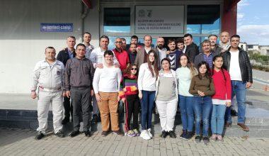 TMS TOFAŞ Şube Başkanı Ömürlü Bayram, kulübümüzü ziyaret etti