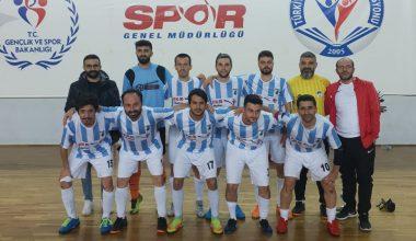 Futsal 1.Ligini İkinci Bitirdik
