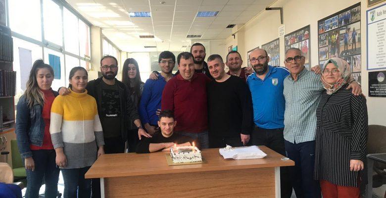 Pilot Başkanımızın Doğum Gününü Kutladık