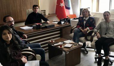 Başkanımız, UÜ Spor Bilimleri Fakültesi ile yapılacak çalışmaları görüştü