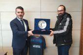 Başkanımız Ali Genç, Selçuk Çebi'yi ziyaret etti.