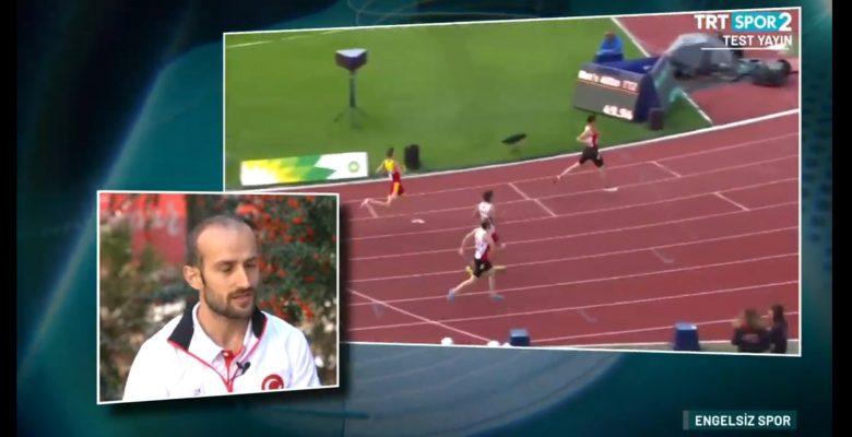 Milli Atletimiz TRT ye konuk oldu.