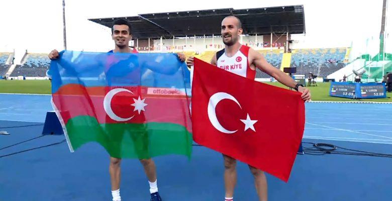 Milli Atletimizden, Avrupa Şampiyonası'nda Gümüş Madalya.